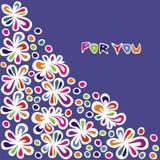цветастые картины Стоковая Фотография RF