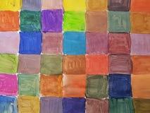 цветастые квадраты Стоковое фото RF