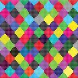 цветастые квадраты Стоковое Изображение