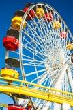 цветастые колеса ferris стоковые фото