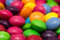 Цветастые конфеты Стоковые Изображения