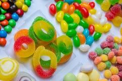 Цветастые конфеты Стоковое Изображение