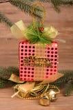 Цветастые коробки подарка Стоковое Изображение