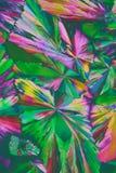 цветастые кристаллы стоковое изображение