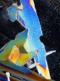 цветастые кристаллы Стоковое Фото