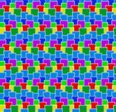 цветастые кубики Стоковое Фото