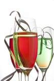 цветастые ленты пить стоковое изображение