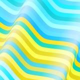 Цветастые линии предпосылка вектора Стоковое Фото