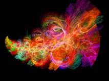цветастые лучи Стоковые Фото