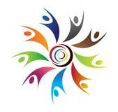 цветастые люди логоса бесплатная иллюстрация