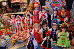 цветастые марионетки Венгрии Стоковые Изображения RF
