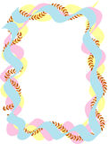цветастые междукадровые штрихи Стоковые Фотографии RF