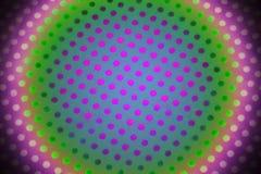 цветастые многоточия Стоковая Фотография RF
