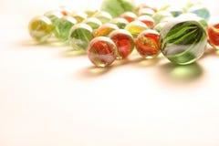 цветастые мраморы Стоковое Изображение