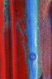 цветастые нашивки вертикальные Стоковая Фотография