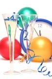 цветастые Новый Год кануна Стоковые Изображения RF