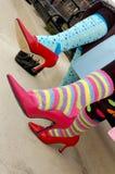цветастые носки Стоковая Фотография