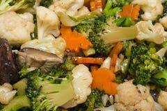 цветастые овощи смешивания Стоковое фото RF