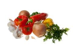 цветастые овощи Стоковое Изображение RF