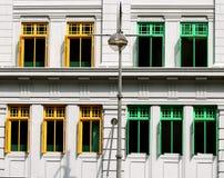 Цветастые окна Стоковое Изображение RF