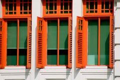 Цветастые окна Стоковые Изображения
