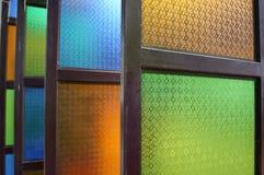 Цветастые окна Стоковое Изображение