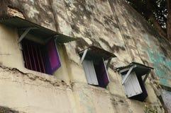 цветастые окна Стоковая Фотография RF