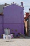 цветастые дома стоковое фото