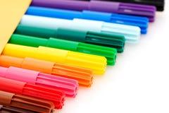 цветастые отметки Стоковая Фотография RF