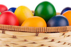 цветастые пасхальные яйца Стоковое Изображение RF