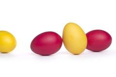 цветастые пасхальные яйца Стоковое фото RF