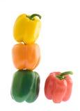 цветастые перцы сладостные Стоковые Изображения RF