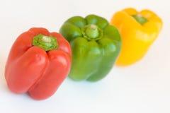 цветастые перцы стоковая фотография rf