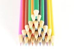 цветастые перя Стоковые Изображения RF