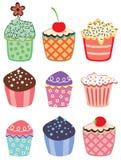 цветастые пирожня бесплатная иллюстрация