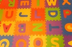цветастые письма Стоковые Фотографии RF