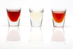 Цветастые пить съемки Стоковое фото RF