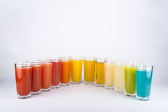 цветастые пить Стоковое Фото