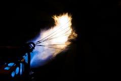 цветастые пламена Стоковое Изображение