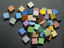 цветастые плитки мозаики Стоковая Фотография