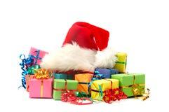 Цветастые подарки стоковое фото rf