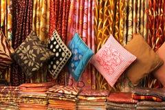 цветастые подушки Стоковые Фотографии RF