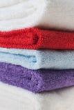 цветастые полотенца Стоковое фото RF