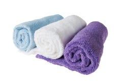 цветастые полотенца Стоковая Фотография