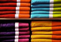 цветастые полотенца Стоковые Фотографии RF