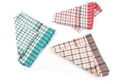 цветастые полотенца кухни Стоковые Фотографии RF