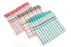 цветастые полотенца кухни Стоковое Фото