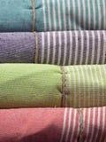 Цветастые полотенца Стоковые Изображения