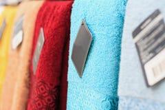 Цветастые полотенца Стоковая Фотография RF