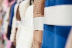 Цветастые полотенца Стоковые Фото